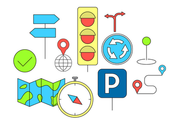 Free Traffic Signs - vector #382513 gratis