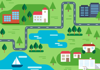 Free Rural Vector Illustration - Free vector #382573