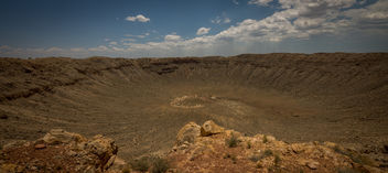 the meteor crater (Arizona USA) - image #383073 gratis