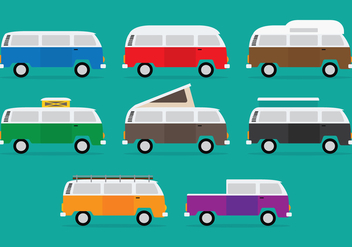 VW Camper Icon - Free vector #383173