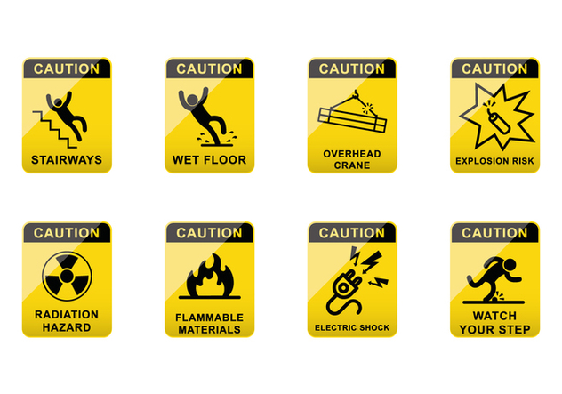 Free Caution Sign Vector - Free vector #383523