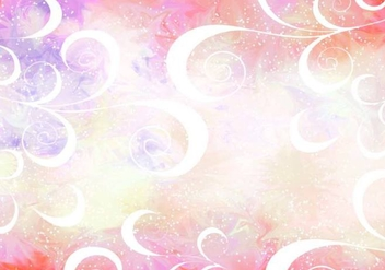 Pink Vector Pixie Dust Background - Kostenloses vector #383933