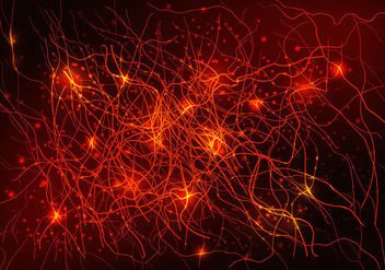 Neuron Background - Free vector #384163