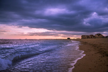 evening on the seaside - image gratuit #384193