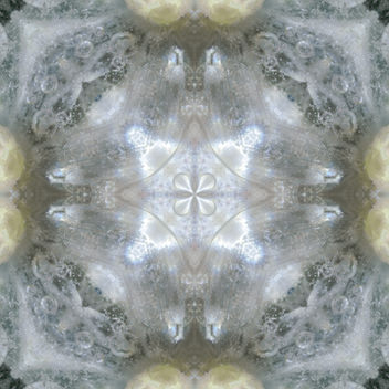 Kaleidoscope Satin - Based on frozen flowers - Free image #384213