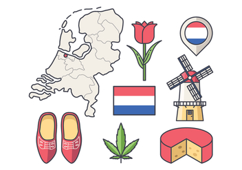 Free Netherlands Vector - Free vector #384243