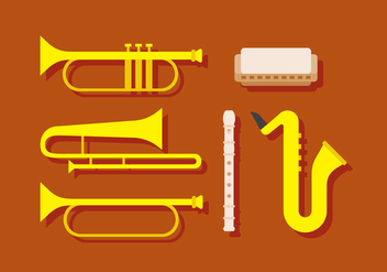 Vector Musical Instrument - Free vector #384473