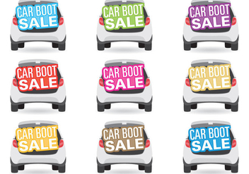 Car Boot Sale Titles - vector #384543 gratis