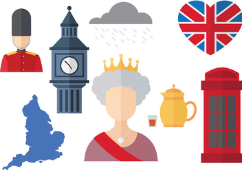 Free Queen Elizabeth Icons Vector - бесплатный vector #384663