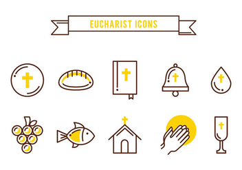 Free Sacraments Icons - Free vector #384753