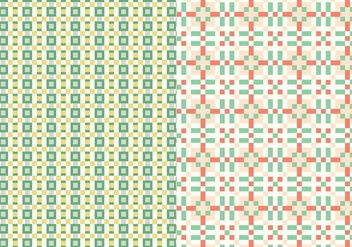 Geometric Stitch Pattern - бесплатный vector #384823