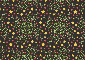 Free Star Vine Background Vector - Kostenloses vector #384933