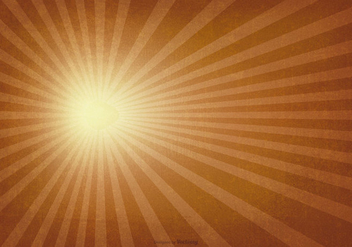 Sunburst Vintage Background - vector #385033 gratis