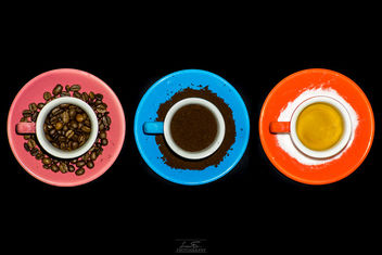 Three Cups of Coffee - Free image #385083