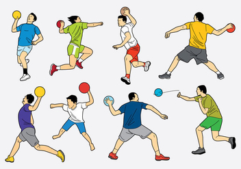 Free Dodge Ball Icons - vector gratuit #385313