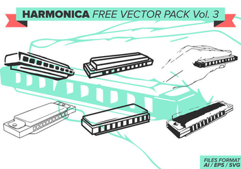 Harmonica Free Vector Pack Vol. 3 - Free vector #385523