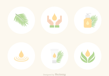 Free Palm Oil Vector Icons - vector #385553 gratis