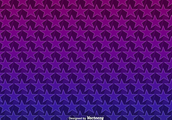 Vector Background With 3D Purple Stars Seamless Pattern - vector #385693 gratis
