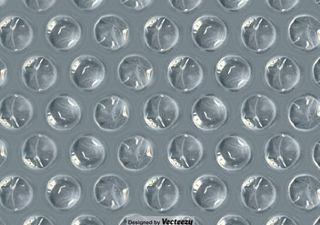 Bubble Wrap Seamless Pattern Vector Background - Free vector #386083