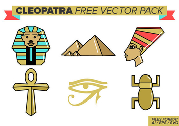 Cleopatra Free Vector Pack - vector gratuit #386123