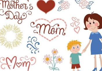 Free Mother Vectors - Free vector #386303