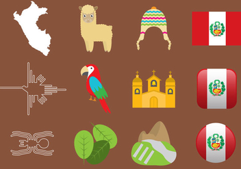 Peru Icons - Free vector #386463