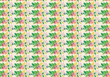 Flowers Plants Pattern - vector #386553 gratis