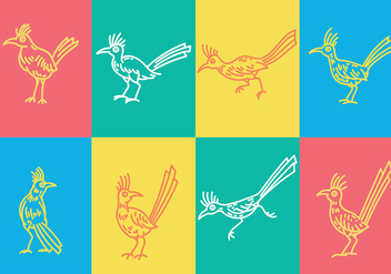 Free Roadrunner Icons Vector - бесплатный vector #386683