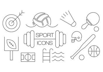 Free Sport Icons - Free vector #386703