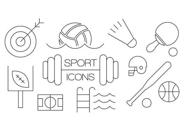 Free Sport Icons - Kostenloses vector #386703