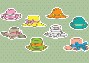 Bonnet icons - vector #386763 gratis