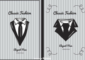 Classic Fashion Background Vector - vector #387303 gratis