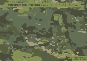 Tropic Multicam Free Vector Texture - Free vector #387473