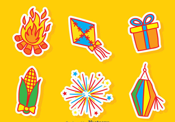 Festa Junina Element Vector - vector #387853 gratis