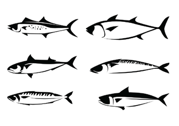 Mackerel Vectors - Free vector #387903