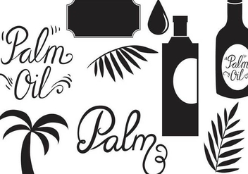 Free Palm Oil Vectors - бесплатный vector #388023