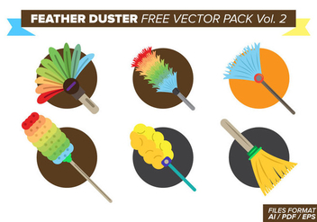 Feather Duster Free Vector Pack Vol. 2 - Kostenloses vector #388323