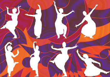 Bollywood Dancer - vector gratuit #388633