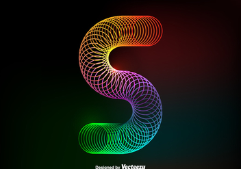 Free Vector Colorful Slinky - vector gratuit #388883