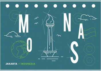 Free Monas Illustration - Kostenloses vector #389223