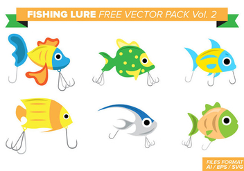 Fishing Lure Free Vector Pack Vol. 2 - vector #389273 gratis