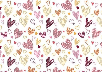 Free Hearts Pattern Vectors - бесплатный vector #389283