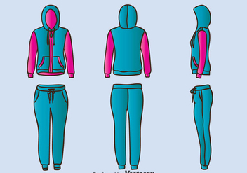 Tracksuits Vector - Free vector #389513