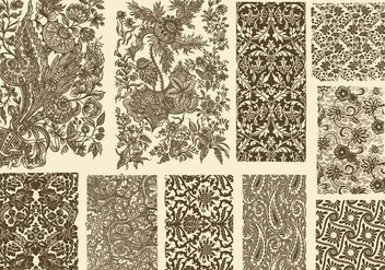 Toile Decoration - бесплатный vector #389713