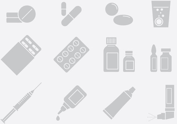 Medicine And Applications - vector gratuit #389783