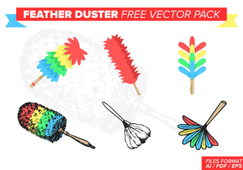 Feather Duster Free Vector Pack - vector gratuit #390133