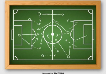 Vector Of Football Plan - Free vector #390153