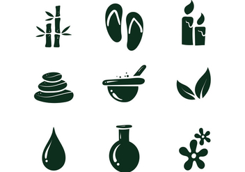 Free Spa Icon - vector #390193 gratis