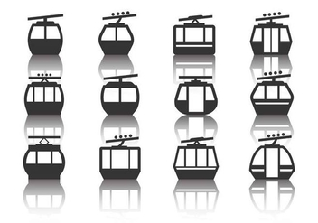 Free Cable Car Vector - vector gratuit #390263