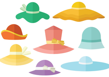 Free Bonnet Icons Vector - Free vector #390313
